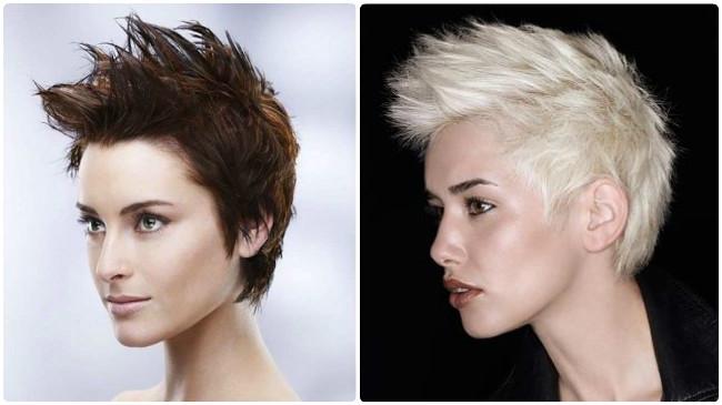 Corte de cabello punk mujer