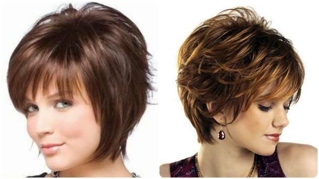 cortes para dar volumen al cabello lacio