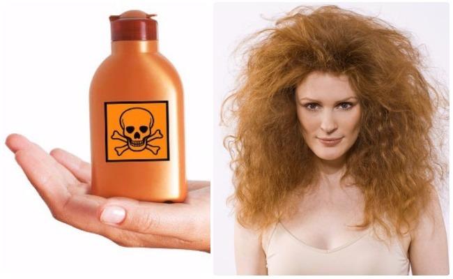 Tratamiento quimico para cabello graso