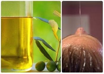 Tratamiento de aceite caliente para pelo dañado por químicos