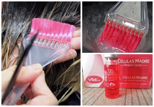 Células madre argán para el cabello