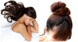 Como Recoger EL cabello Para Dormir