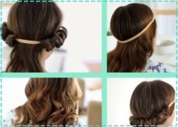 Cómo rizar el cabello corto en casa