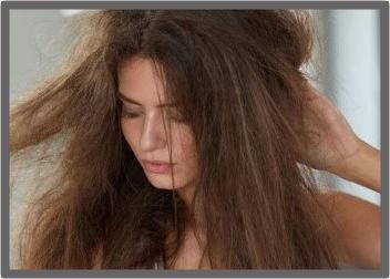 Champú para cabello maltratado por decoloración