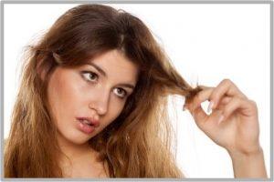 Tratamiento natural para el pelo sin brillo y seco